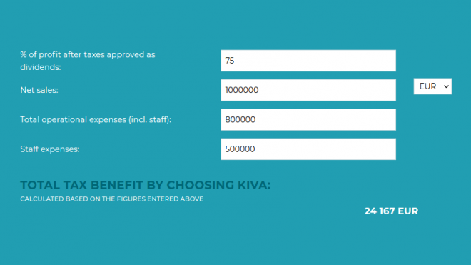 Explore the new small business tax calculator